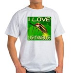 I Love Lightningbugs Light T-Shirt