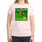 I Love Lightningbugs Women's Light T-Shirt