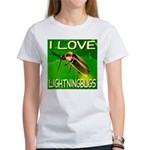 I Love Lightningbugs Women's T-Shirt