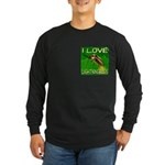 I Love Lightningbugs Long Sleeve Dark T-Shirt