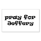 JEFFERY Rectangle Decal