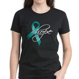 Cervical Cancer Ribbon Hope  T