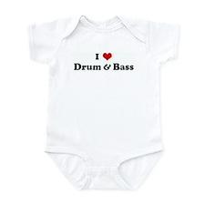 I Love Drum & Bass Onesie