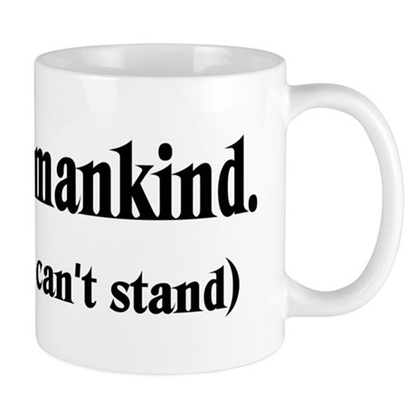 Love Mankind Mug