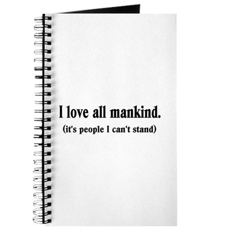 Love Mankind Journal