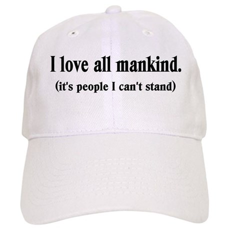 Love Mankind Cap