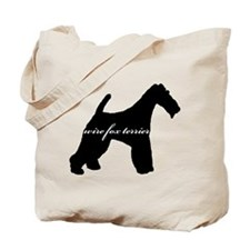 Wire Fox Terrier DESIGN Tote Bag