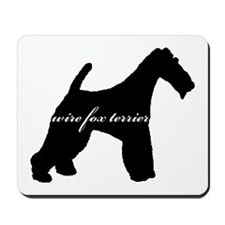 Wire Fox Terrier DESIGN Mousepad
