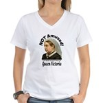 Queen Victoria Women's V-Neck T-Shirt