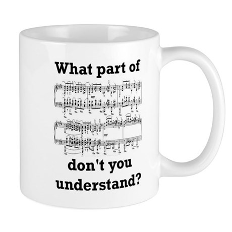 The Musician Mug