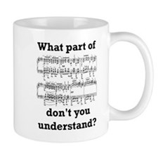 The Musician Small Mugs
