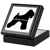 Wheaten Terrier DESIGN Keepsake Box