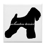 Wheaten Terrier DESIGN Tile Coaster
