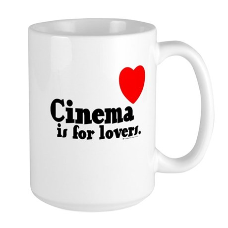 Cinema is for Lovers Large Mug