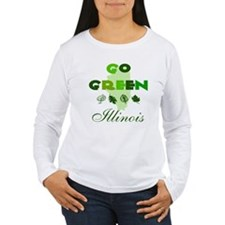 Go Green Illinois T-Shirt