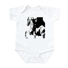 AFTM English Motion BW Infant Bodysuit