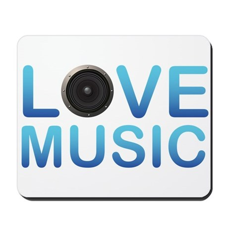 Love Music Mousepad