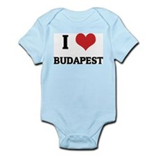 I Love Budapest Infant Creeper