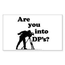 Are you into DP's? Rectangle Decal