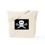 Craft Pirate Scissors Tote Bag w/ Craftster Logo