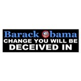 Deceived Bumper Bumper Sticker