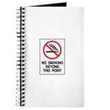 No Smoking Beyond This Point Journal
