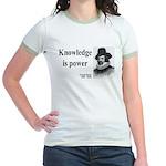 Francis Bacon Quote 1 Jr. Ringer T-Shirt