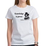 Francis Bacon Quote 1 Women's T-Shirt