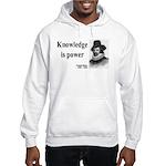 Francis Bacon Quote 1 Hooded Sweatshirt