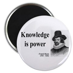 "Francis Bacon Quote 1 2.25"" Magnet (100 pack)"