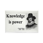 Francis Bacon Quote 1 Rectangle Magnet (10 pack)