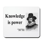 Francis Bacon Quote 1 Mousepad