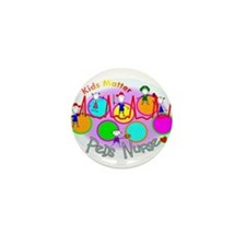 Cool Pediatric nursing Mini Button (10 pack)