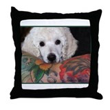 Cute Photographer Throw Pillow