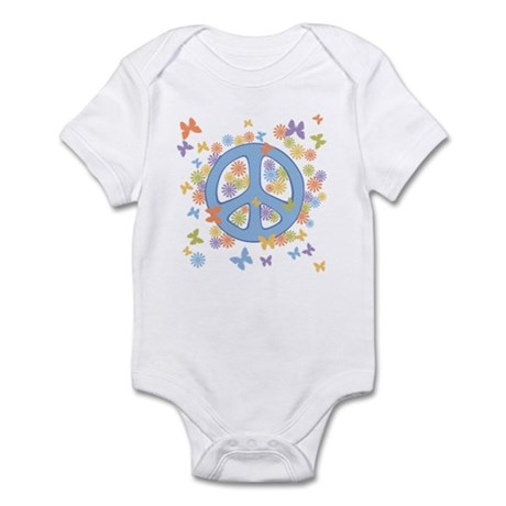 Peace & Butterflies Infant Bodysuit
