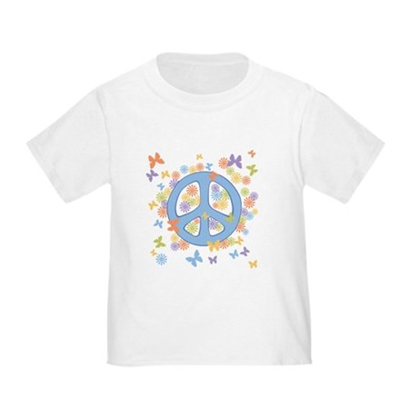 Peace & Butterflies Toddler T-Shirt