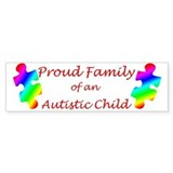 Autism Family Bumper Car Sticker