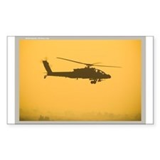 AH-64 Apache Rectangle Decal