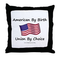 Union By Choice Throw Pillow