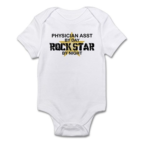 Physician Assistant Rock Star by Night Infant Body