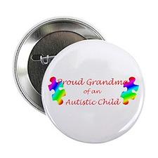 "Autism Grandma 2.25"" Button"