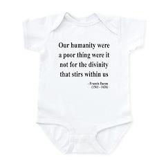 Francis Bacon Text 4 Infant Bodysuit
