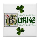 Burke Celtic Dragon Ceramic Tile