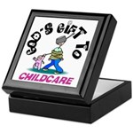 God's Gift to Childcare Keepsake Box