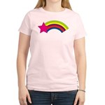 Star and Rainbow Women's Light T-Shirt