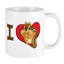 I heart chipmunks Coffee Mug