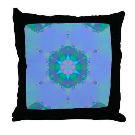 Abyssal Visions XII Throw Pillow