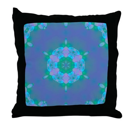 Abyssal Visions XIV Throw Pillow