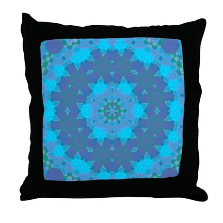 Abyssal Visions XV Throw Pillow