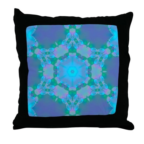 Abyssal Visions XVI Throw Pillow